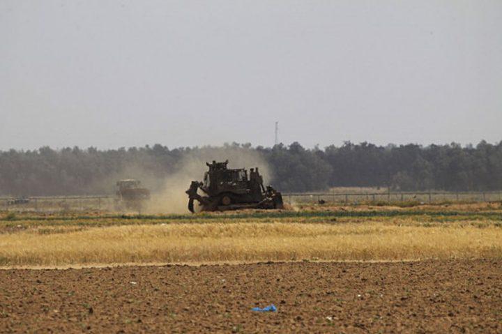 توغل لآليات الاحتلال  شمال بيت حانون