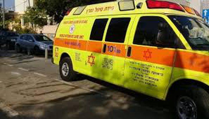 إصابات بحادث سير قرب اللد