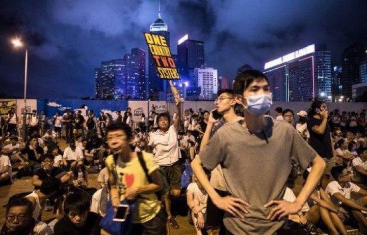 لليوم الثالث على التوالي.. تواصل المواجهات في هونغ كونغ