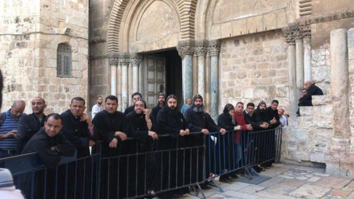 الخارجية: الاحتلال يتحمل مسؤولية عن اقتحام مستوطن لكنيسة القيامة