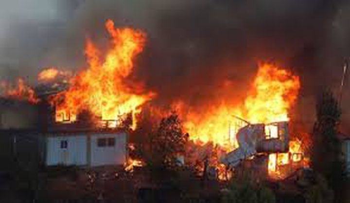تدمير 245 منزلا بسبب حريق في مدينة فالباريزو التشيلية