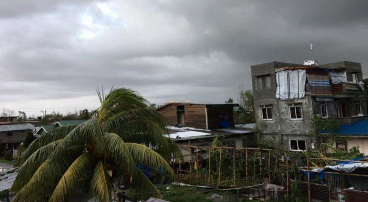 إعصار فانفون في الفلبين يودي بحياة 16 شخصا