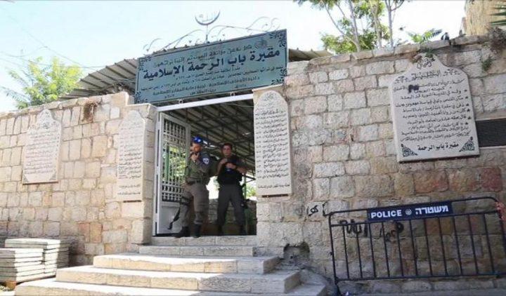 الاحتلال يعتقل شاباً خلال تواجده في مقبرة باب الرحمة