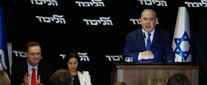 نتنياهو يتعهد بفرض سيادة الاحتلال على الأغوار وشمال البحر الميت