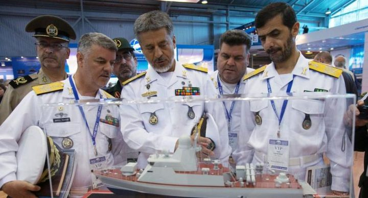 انطلاق أول مناورات بحرية بين إيران وروسيا والصين شمال الهندي