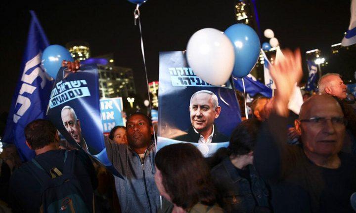 """نتنياهو يتقدم على ساعر في انتخابات """"الليكود"""""""