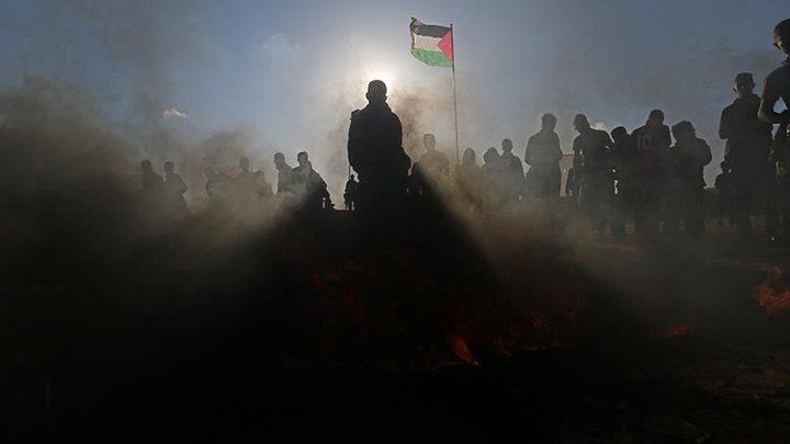 """غزة تستعد لجمعة """"دماء الشهداء ترسم طريق الحرية"""""""