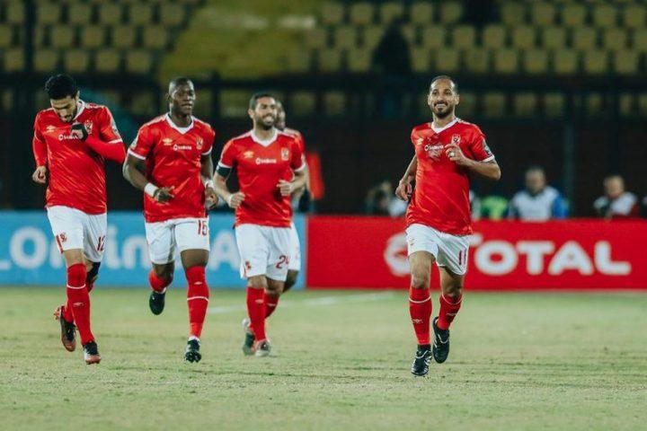 الأهلي المصري يفوز علىبلاتينيوم من زمبابوي