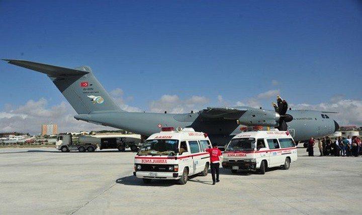 وصول طائرة طبية تركية لعلاج المصابين في تفجير مقديشو