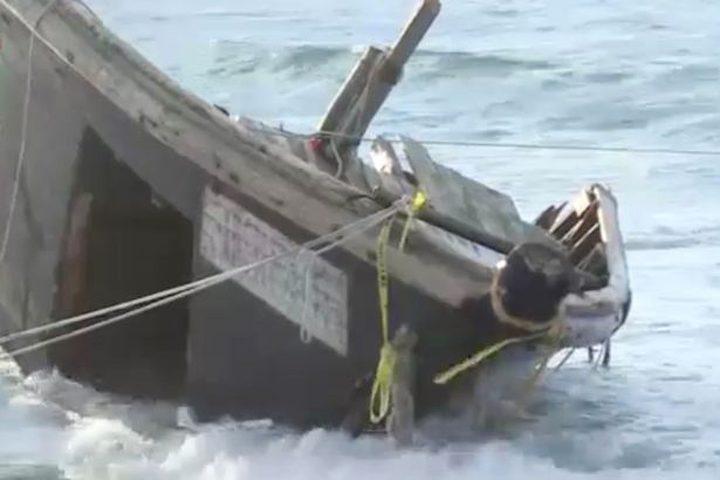 اليابان.. العثور على سفينة محملة بالجثث والبقايا البشرية !