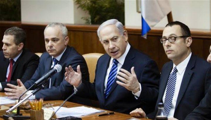 قناة عبرية: اجتماع للكابينيت الأربعاء المقبل لمناقشة تهدئة غزة