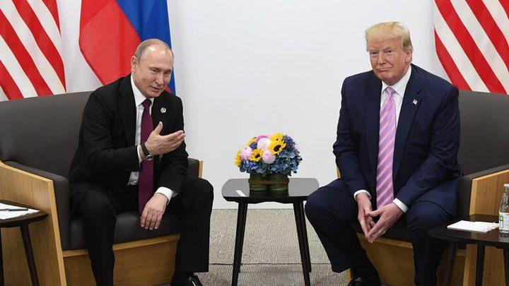 بوتين يشكر ترامب على معلومات أسهمت في إحباط هجمات إرهابية بروسيا