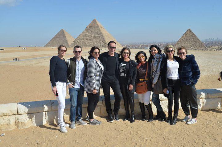 الخبير العالمي في مجال الإكسسوارات ميشيل سعادة يزور مصر