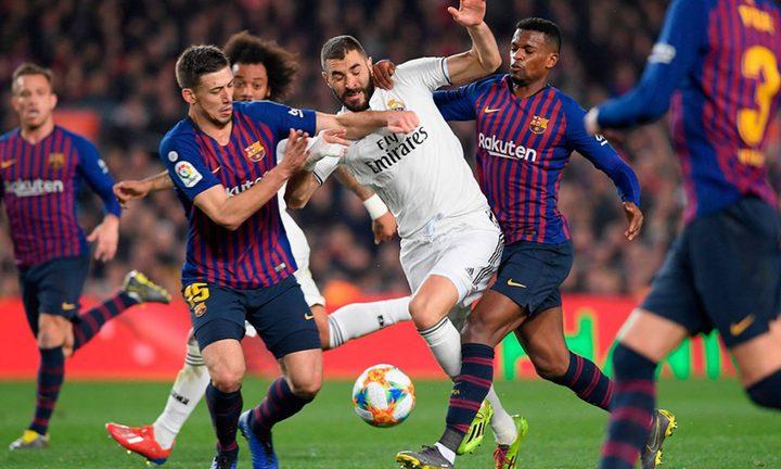 هدف  النادي الملكي يشغل بال برشلونة