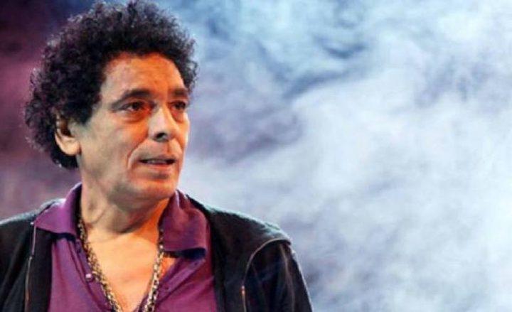 تدهور الحالة الصحية للنجم محمد منير