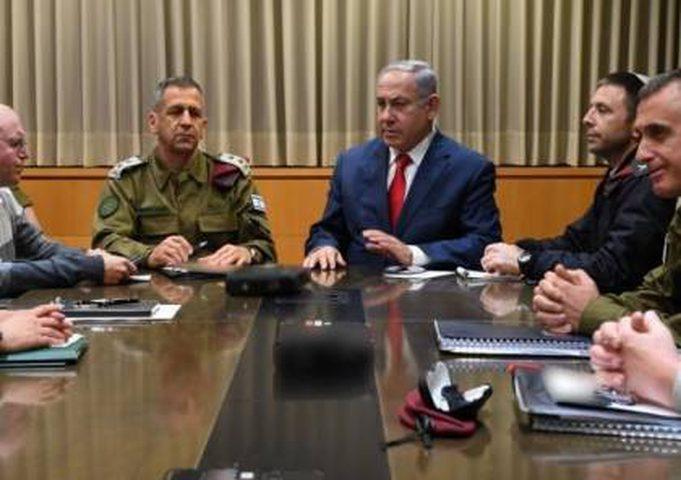 اجتماع للكابينت اليوم لمناقشة التهدئة بغزة