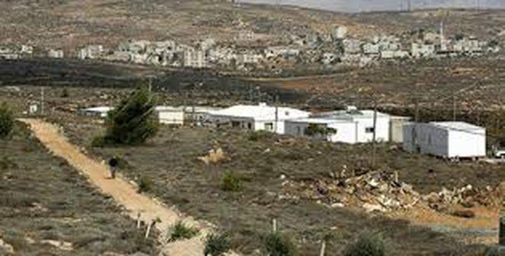 الاحتلال يخطر بإزالة غرفة شمال طوباس
