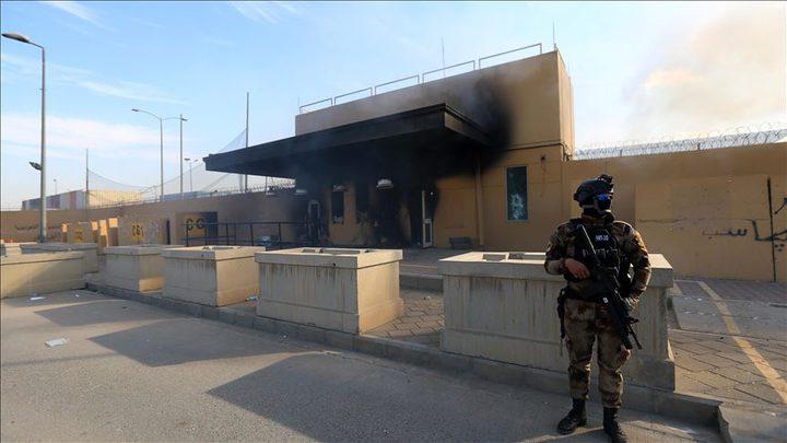تعليق العمليات القنصلية للسفارة الأمريكية في بغداد