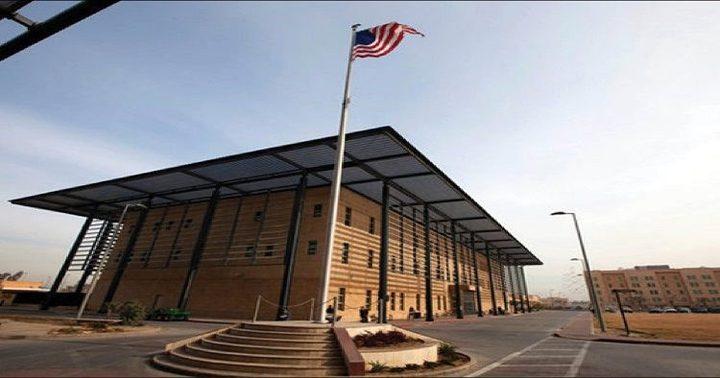 مروحيات أمريكية تحلق فوق سفارة واشنطن في بغداد