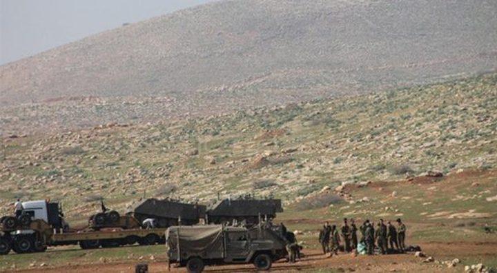 الاحتلال يداهم خيام إحدى العائلات في الأغوار