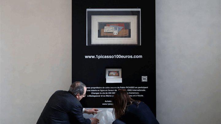 اعتقال رجل أتلف لوحة لبيكاسو بملايين الدولارات