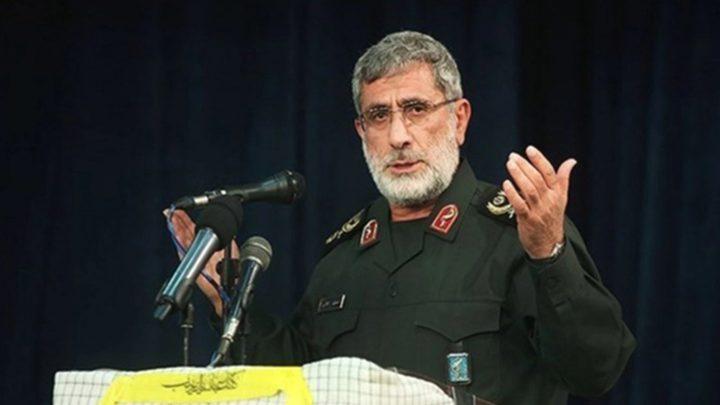 تعيين إسماعيل قآني خليفة لسليماني في قيادة فيلق القدس الإيراني