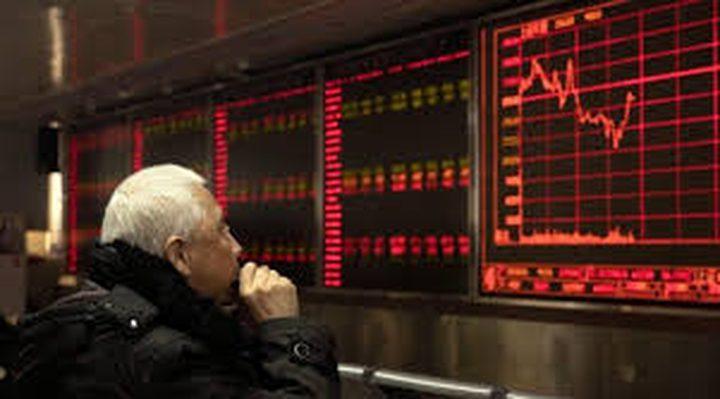 بورصة وول ستريت تهبط متأثرة بتوترات الشرق الأوسط