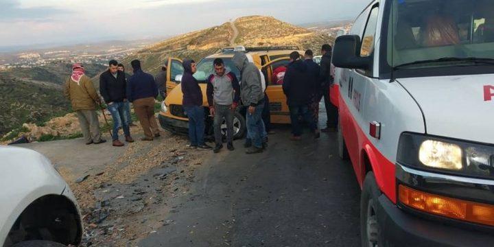 اصابات بحادث سير شرق بيت لحم