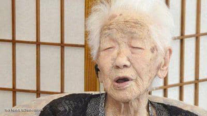 تعرفوا على المرأة اليابانية الأكبر سنا في العالم