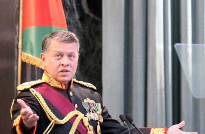 ملك الأردن يؤكد على أهمية تجنيب المنطقة أي تهديد محتمل