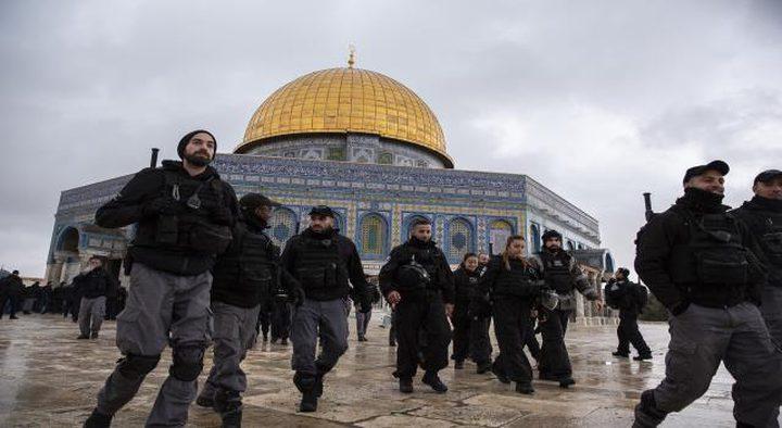 قوات الاحتلال تواصل منع خطيب الأقصى من الدخول للقدس