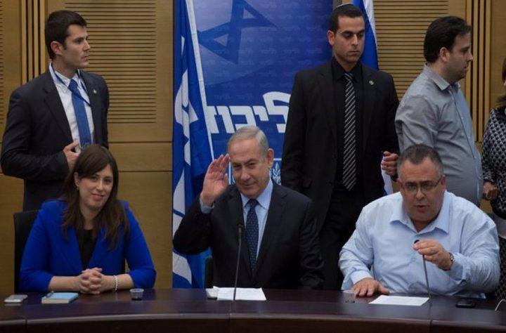 نتنياهو يعلن عن جملة تعيينات لأعضاء من حزبه في مناصب وزارية