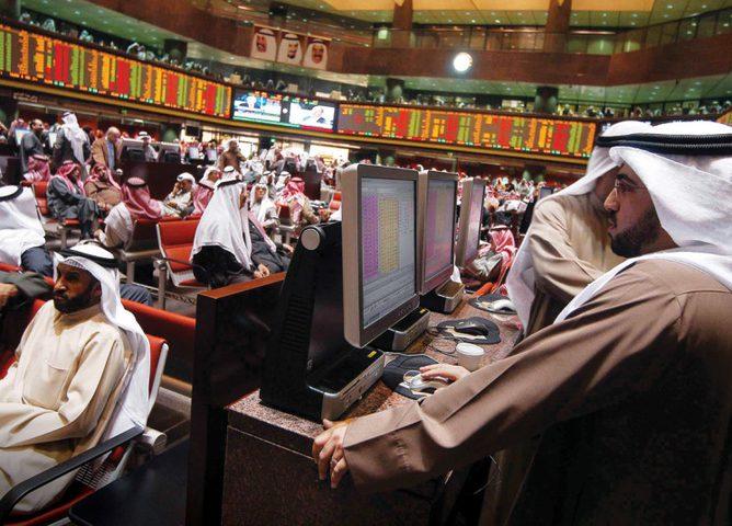 هبوط أسواق الأسهم في الخليج
