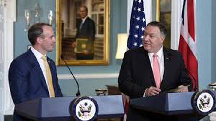 وزير خارجية بريطانيا يلتقي بنظيره الأمريكي لبحث مقتل سليماني