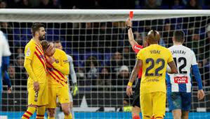 إسبانيول يفرض التعادل على برشلونة