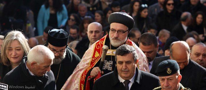 المعتمد البطريركي للسريان يصل بيت لحم