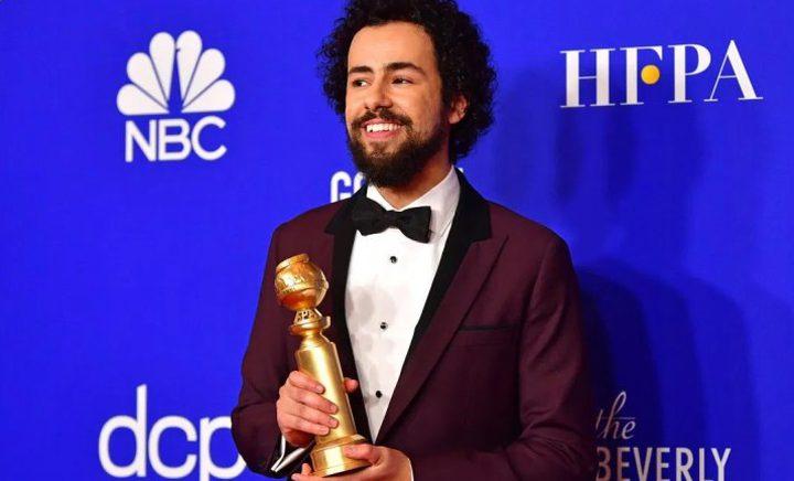 الممثل المصري رامي يوسف يحصد جائزة أفضل ممثل