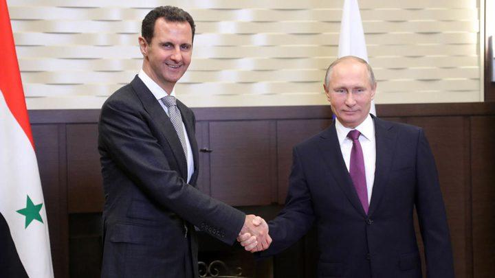 الرئيس الروسي يصل سوريا في زيارة مفاجئة
