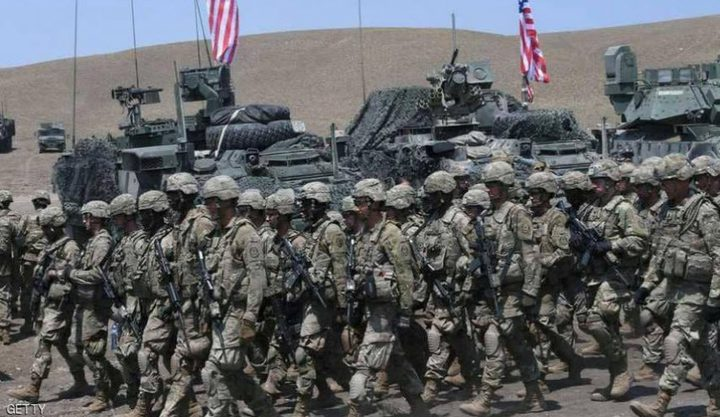 القوات الأمريكية تخلي قاعدتها في منطقة خراب الجير بريف الحسكة