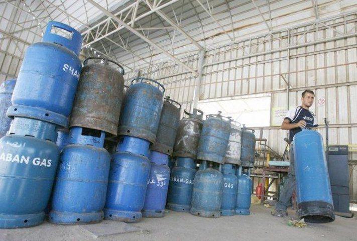 غزة: نفاد كميات الغاز المنزلي من جميع المحطات