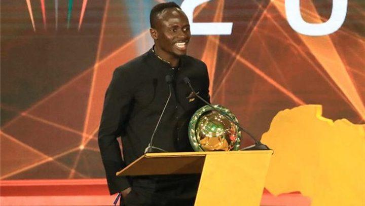 ليفربول يهنئ نجمه ماني بعد فوزه بجائزة أفضل لاعب في أفريقيا