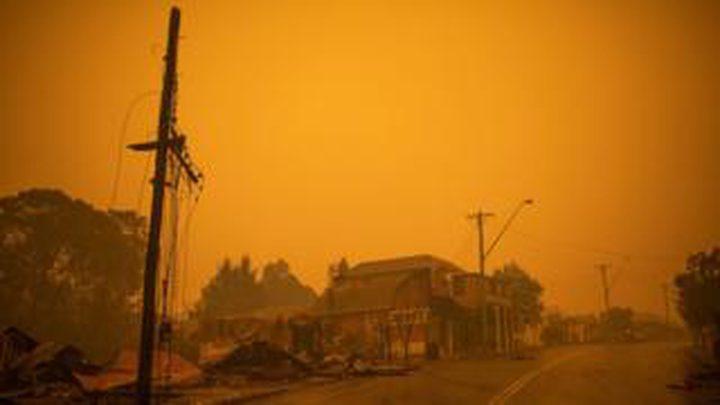 حرائق استراليا تدمر 20 مليون فدان من الاراضي