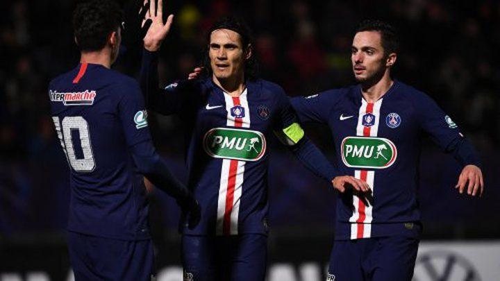"""فوز باريس سان جيرمان على سانت إيتان  بـ""""نصف دزينة"""""""