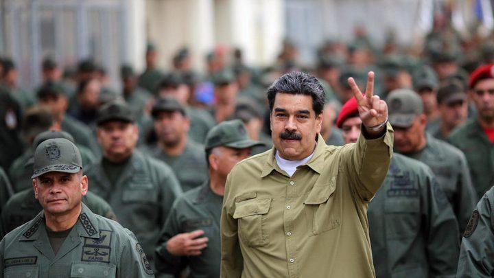 مادورو: مناورات عسكرية فنزويلية منتصف الشهر المقبل
