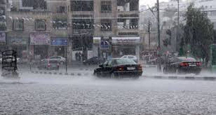 48% ملم نسبة الأمطار في غزة  وبيت حانون الأكثر هطولًا