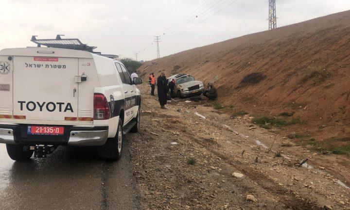 مصرع مواطن من رهط في حادث طرق