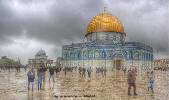 طقس فلسطين اليوم الجمعة: استمرار المنخفض.. أجواء باردة وماطرة