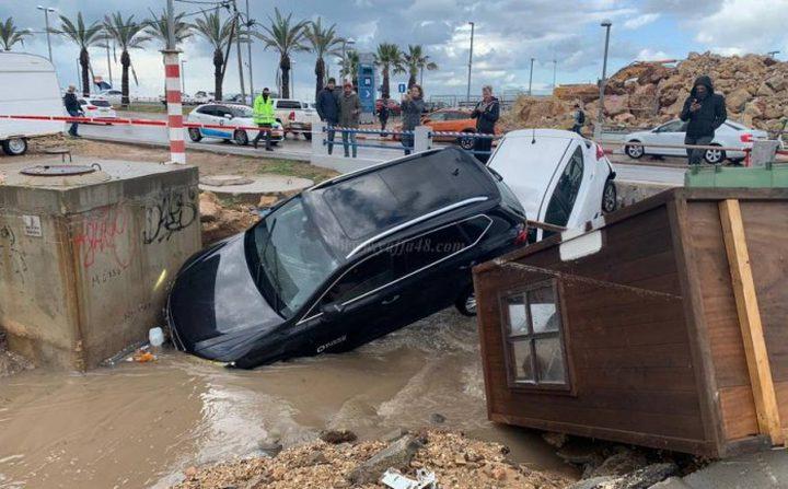 50 مليون شيكل خسائر الاحتلال بسبب سوء الأحوال الجوية