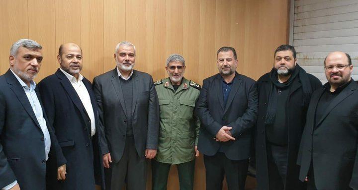 صحيفة: اغتيال سليماني يفتح أبواب عودة التحالف بين حماس وإيران