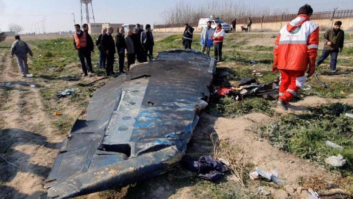 طهران تعترف بإسقاط الطائرة الأوكرانية
